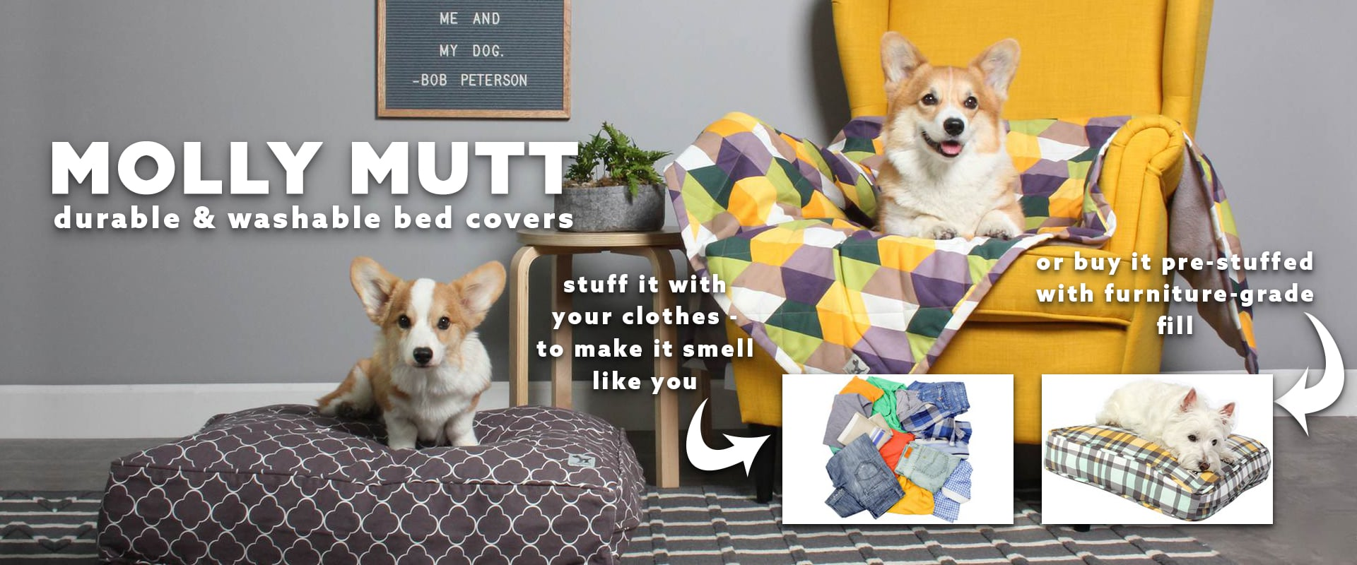 DIY Dog Bed, Comfortable, Large